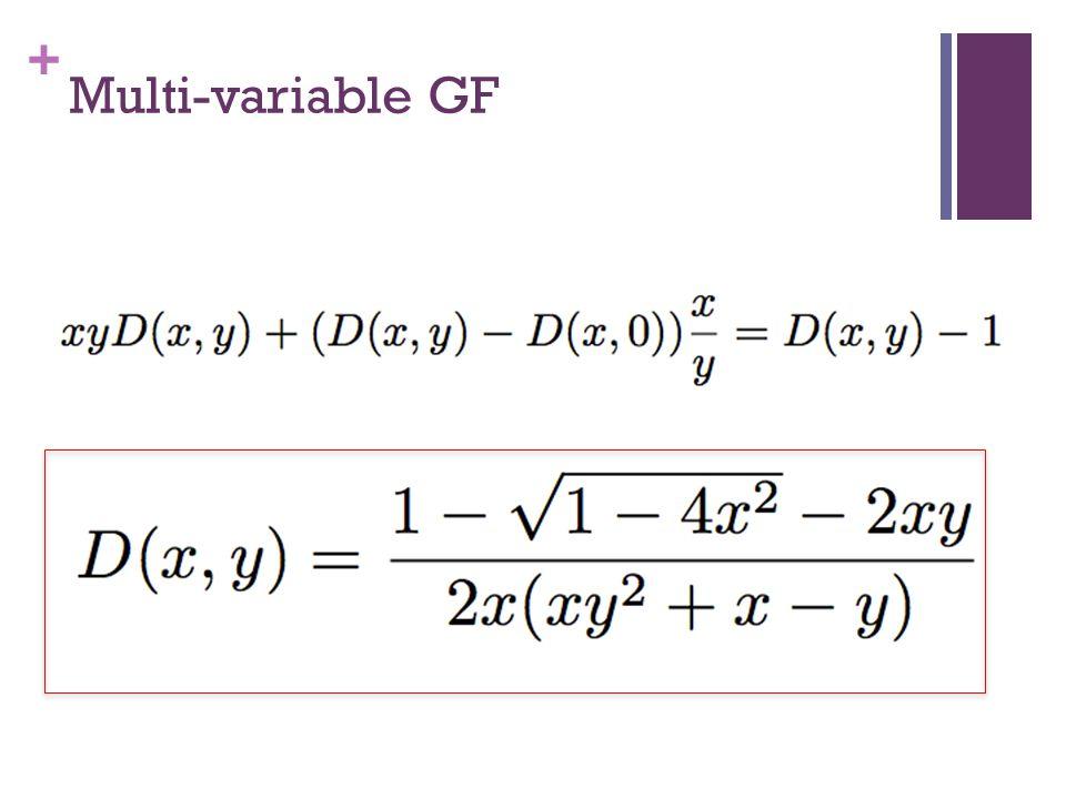 + Multi-variable GF