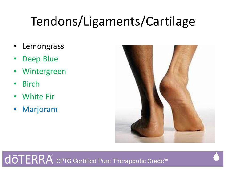 Tendons/Ligaments/Cartilage Lemongrass Deep Blue Wintergreen Birch White Fir Marjoram  CPTG Certified Pure Therapeutic Grade ®