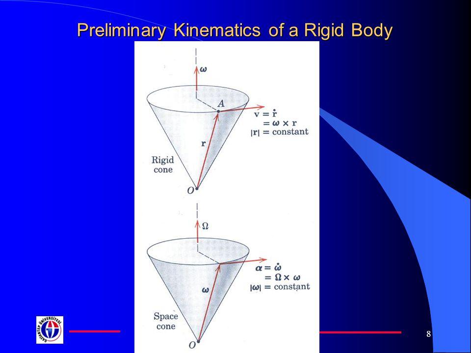 Gaziantep University 8 Preliminary Kinematics of a Rigid Body