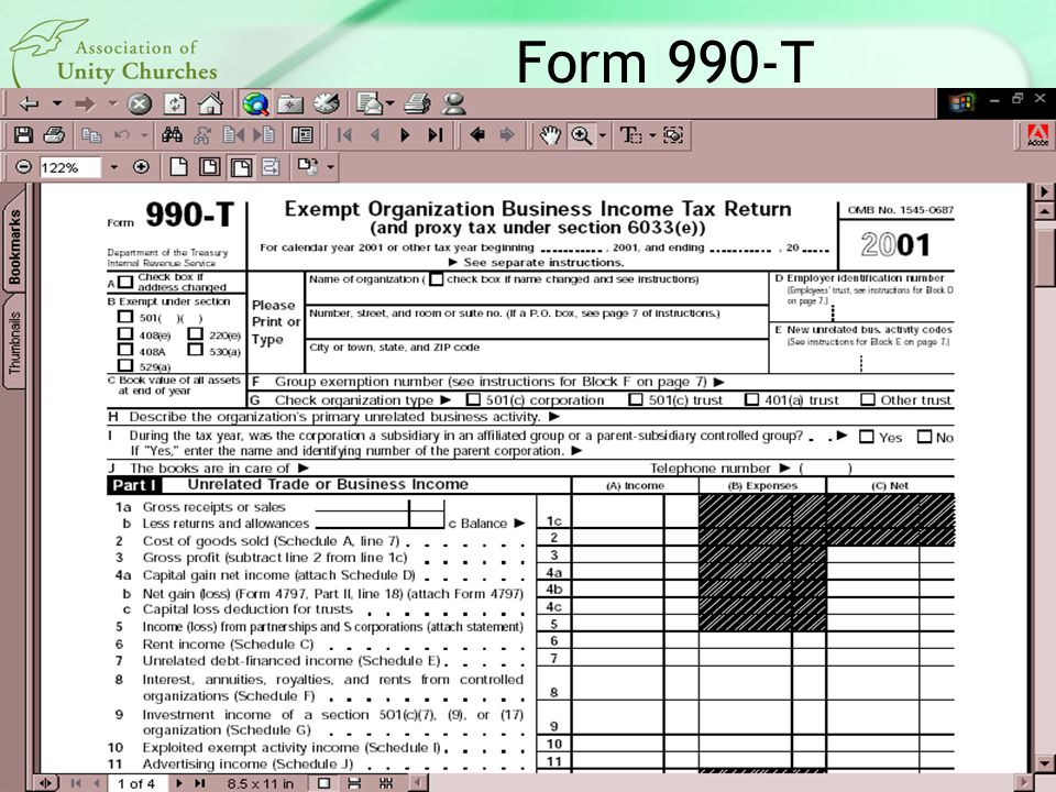 Form 990-T