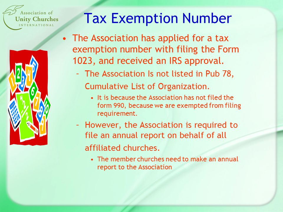 Annual Membership Report to Association