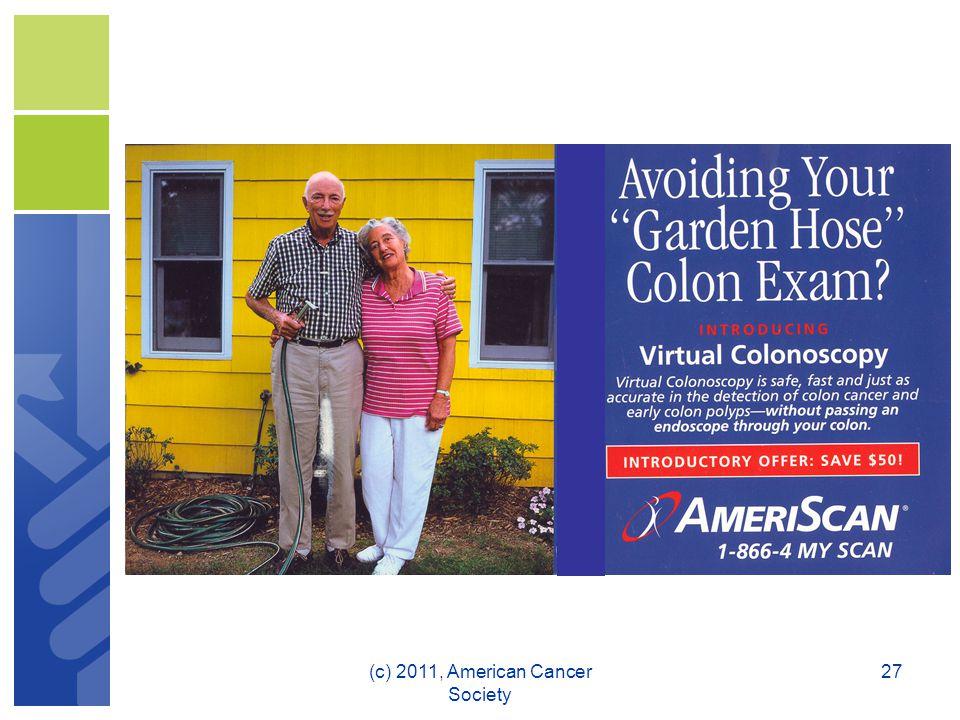 27(c) 2011, American Cancer Society