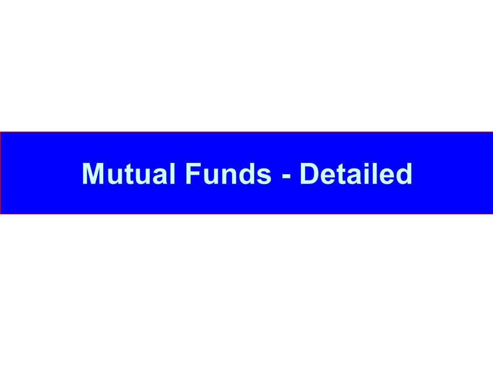 What are open-ended funds.