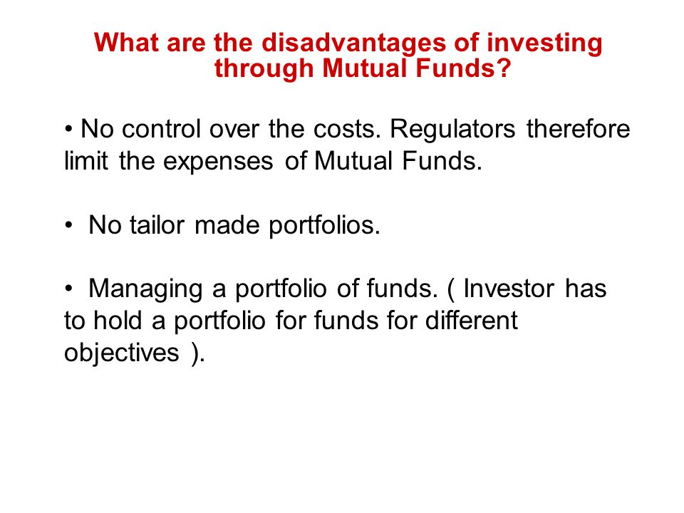 What are the limitations to investors right .Investors cannot sue the trust.