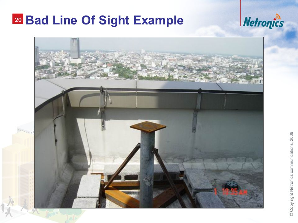 20 Bad Line Of Sight Example