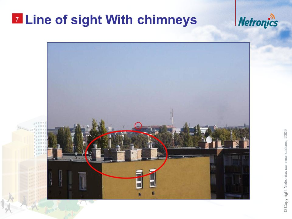 7 Line of sight With chimneys