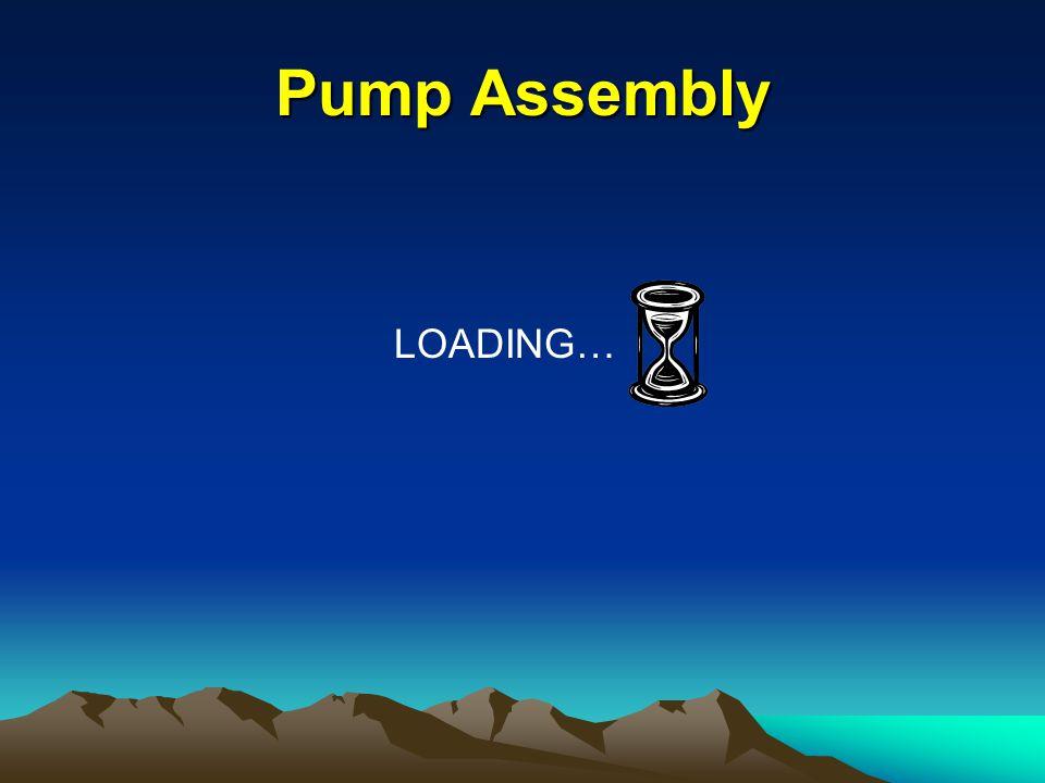Pump Assembly Procedure