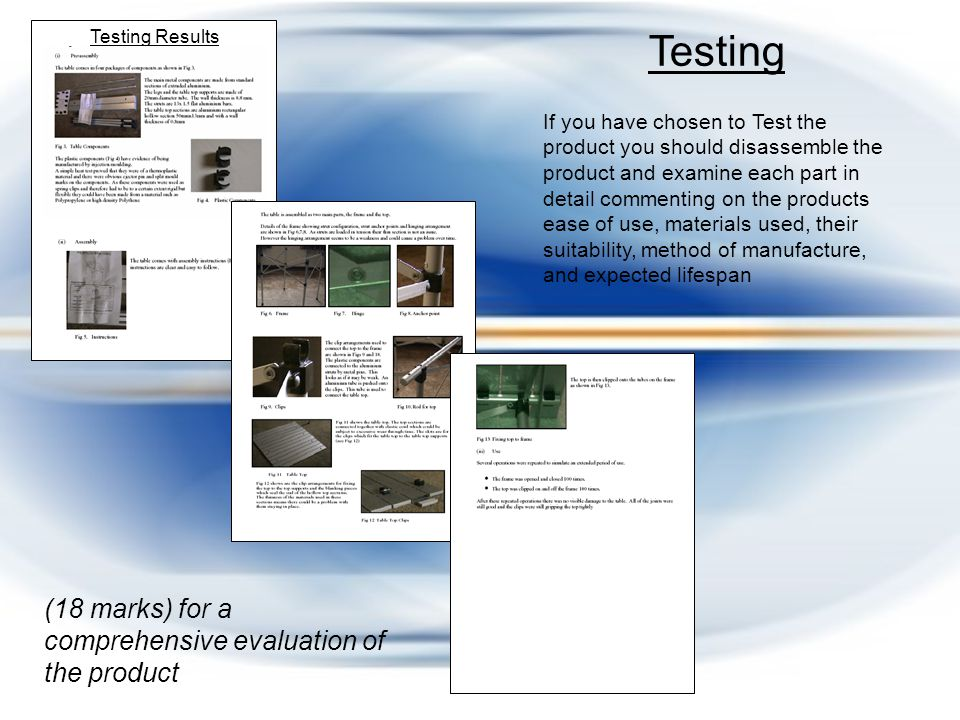 Comparisons with other products If you have chosen to do a comparison you will need to look at similar priced products and draw up a table assessing their strengths/ weaknesses Comparisons with other products £1184 TV1 910x553 114 1366x768 TV2TV3TV4 Model Cost Screen Size Thickness Resolution YesHD ready.