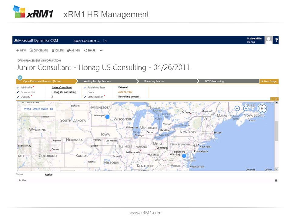 www.xRM1.com xRM1 HR Management