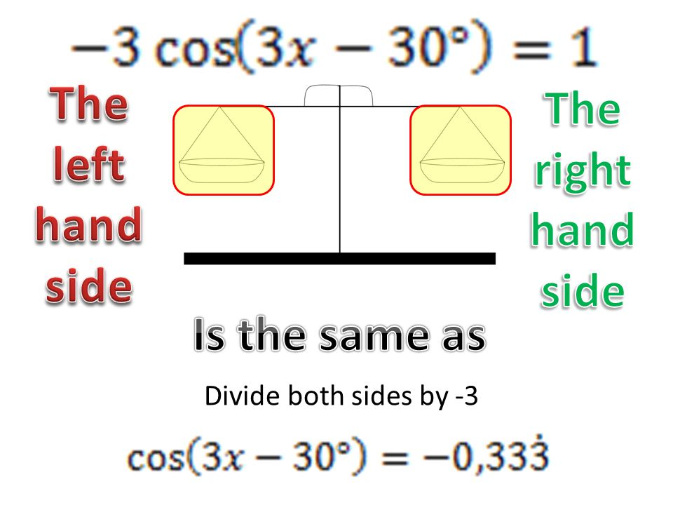 Divide both sides by -3
