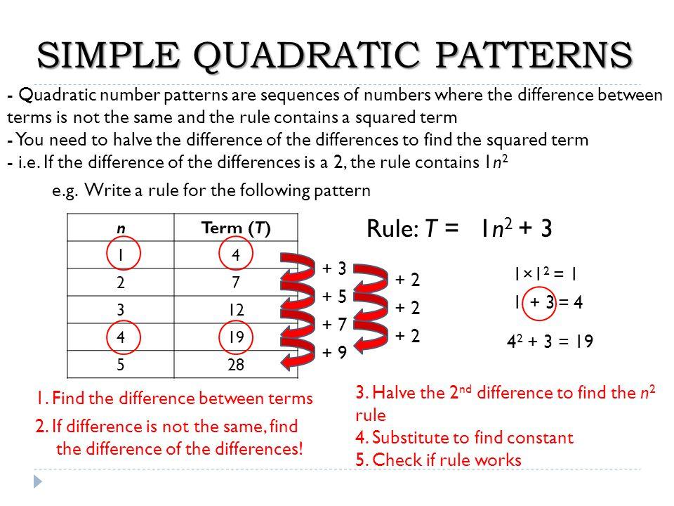 e) x 2 + 8x = 0 x( ) = 0 x = 0x + 8 = 0 - 8 x = -8 x + 8 f) x 2 – 11x = 0 x( ) = 0 x = 0x – 11 = 0 + 11 x = 11 x – 11 g) x 2 - 49 = 0 (x )(x ) = 0 x + 7 = 0 - 7 x = -7 - 7 + 7 x - 7 = 0 +7 x = 7 h) 9x 2 - 4 = 0 (3x )(3x ) = 0 - 2 + 2 3x - 2 = 0 +2 3x = 2 ÷3 x = 2/3 3x + 2 = 0 -2 3x = -2 ÷3 x = -2/3 i) x 2 = 4x + 5 (x + 1)(x – 5) = 0 x + 1 = 0x – 5 = 0 +5 x = -1x = 5 1, 5--4x -5 x 2 – 4x – 5 = 0 j) x(x + 3) = 180 x 2 + 3x = 180 -180 x 2 + 3x – 180 = 0 (x + 15)(x – 12) = 0 x + 15 = 0x – 12 = 0 -15 +12 x = -15x = 12