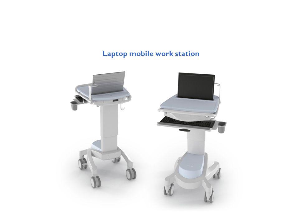 Laptop mobile work station