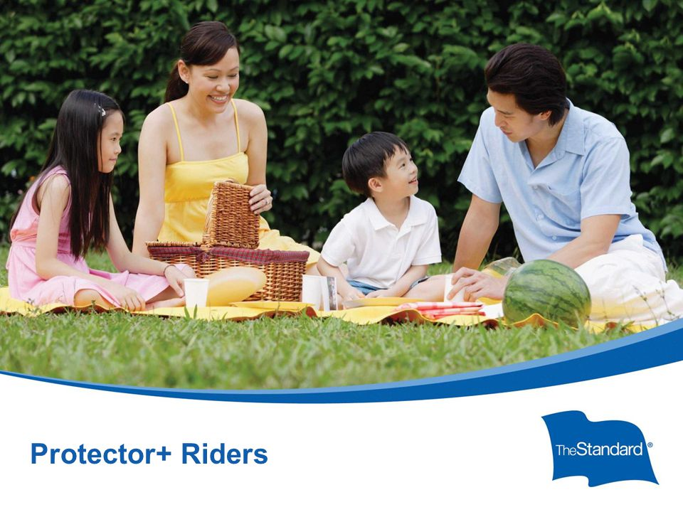 © 2010 Standard Insurance ny SI 16434PPTPROT (Rev 8/14) Protector+ Riders