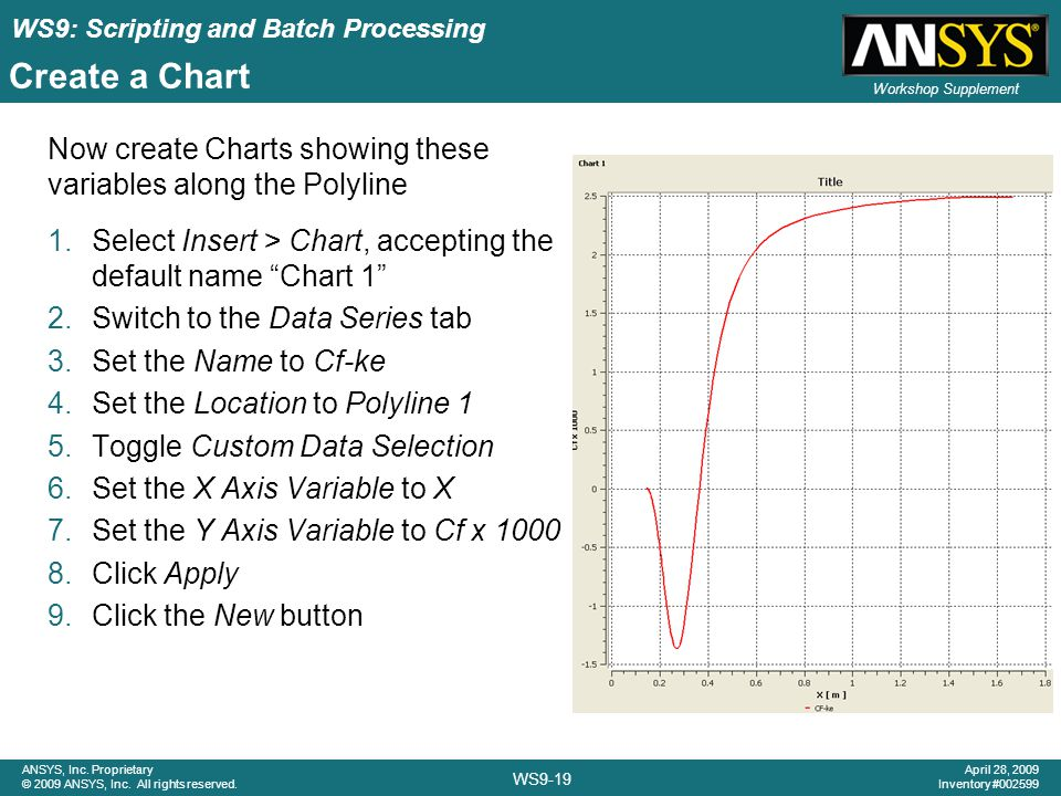 WS9: Scripting and Batch Processing WS9-19 ANSYS, Inc.