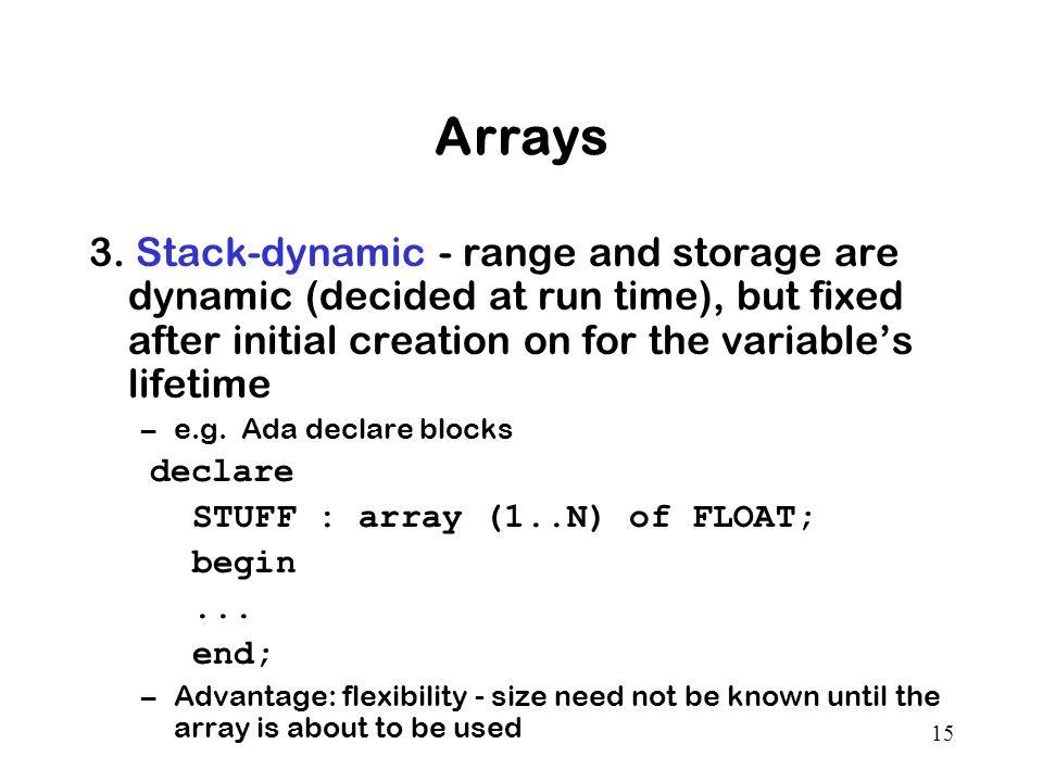 15 Arrays 3.