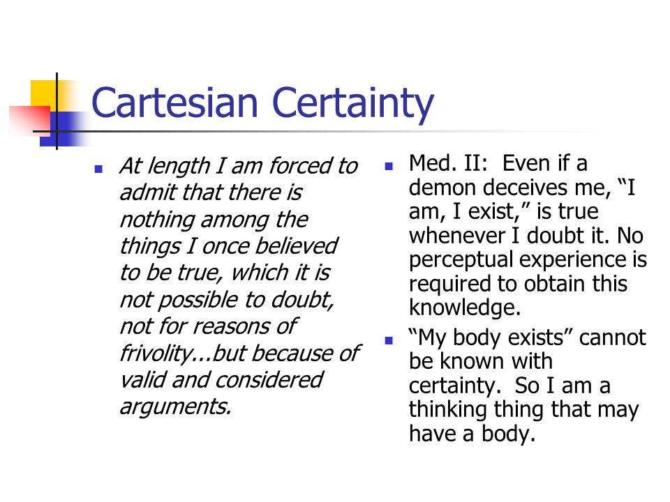Non-sensory knowledge of body.