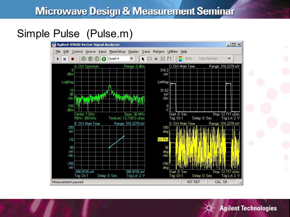 Simple Pulse (Pulse.m)