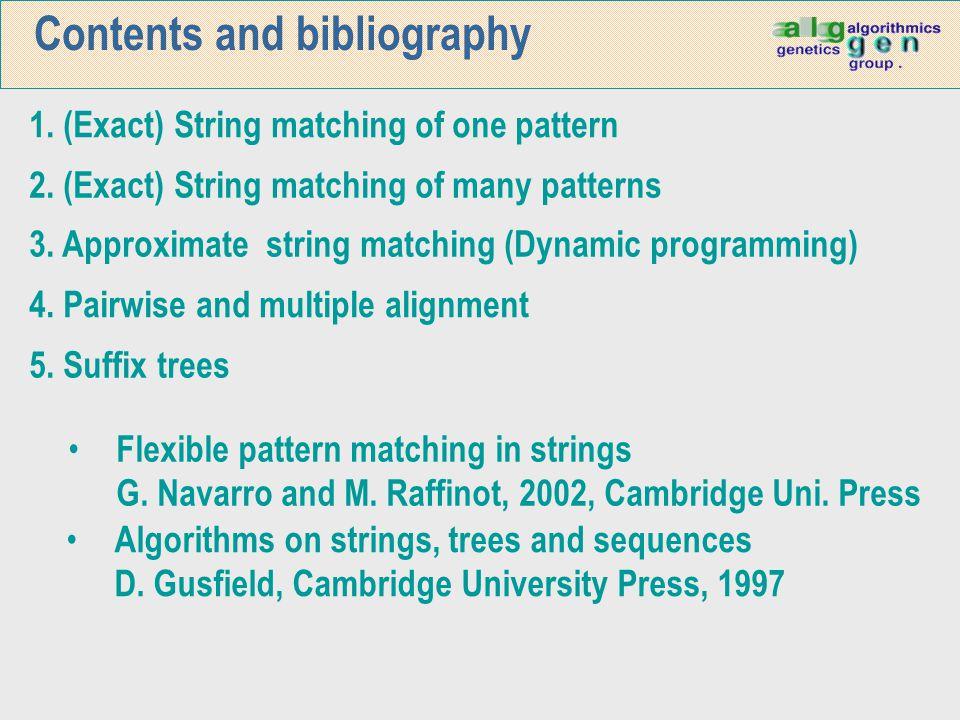 Alg.Cerca exacta de molts patrons 5 10 15 20 25 30 35 40 45 8 4 2      Wu-Manber SBOM Long.