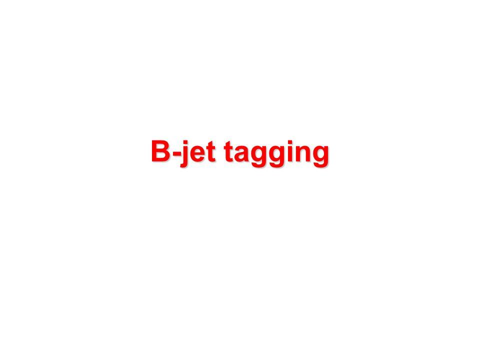 B-jet tagging