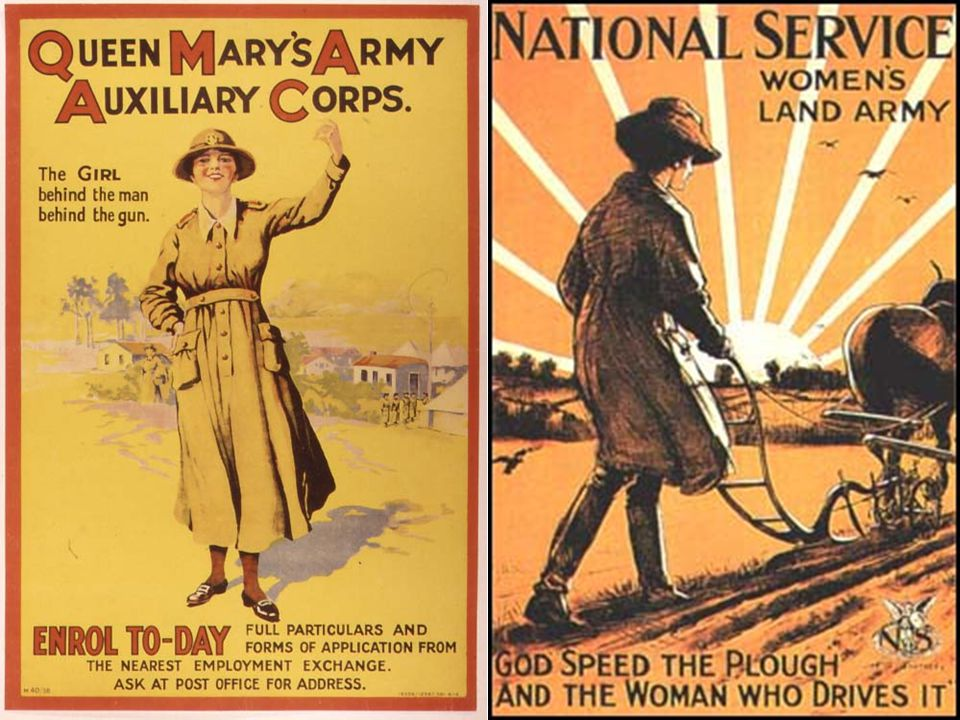Key points The armed forces also employed women, but the jobs were mainly of a clerical and domestic nature.