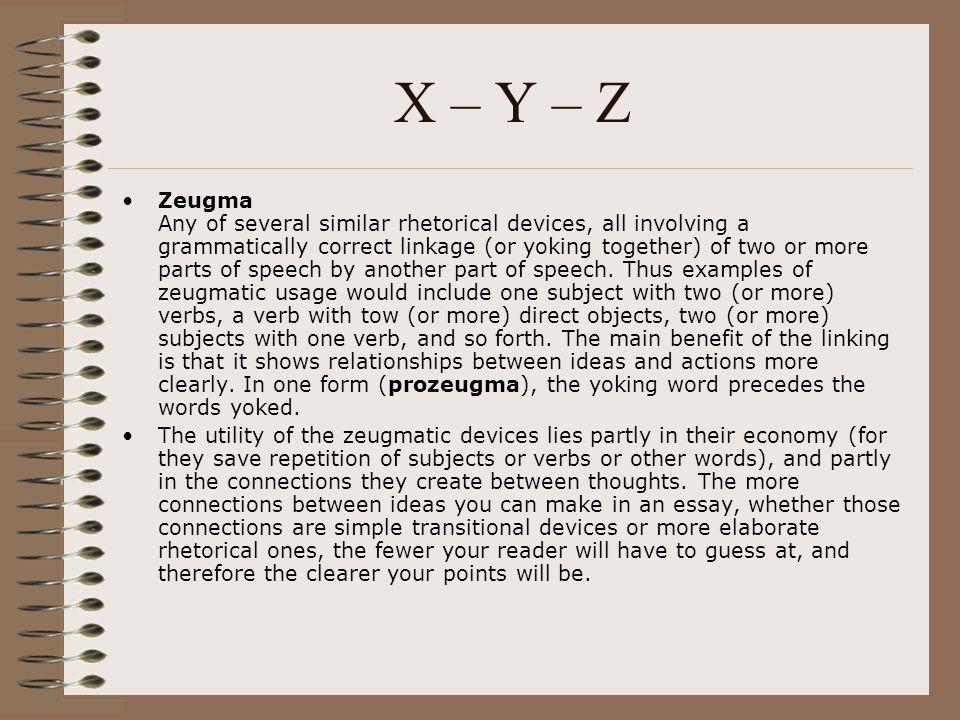 Zeugma Rhetorical Device   Literary Devices