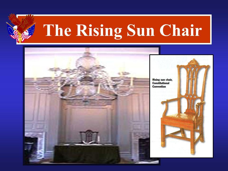 The Rising Sun Chair