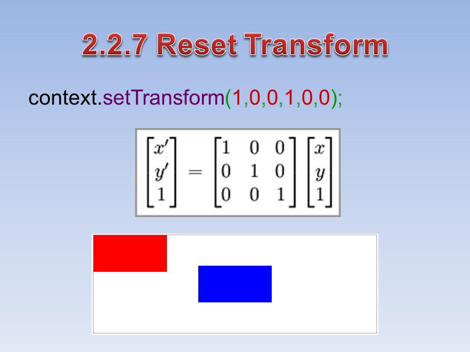 context.setTransform(1,0,0,1,0,0);
