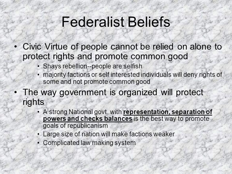 States Righters George Mason Elbridge Gerry Patrick Henry Samuel Adams George Clinton Richard Henry Lee