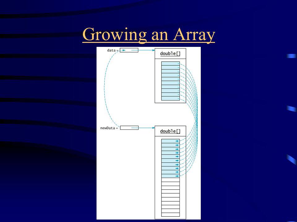 Growing an Array
