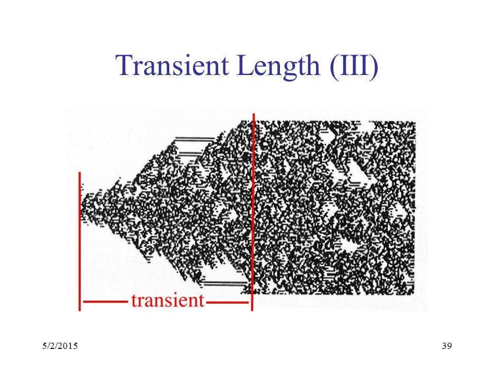 5/2/201539 Transient Length (III)