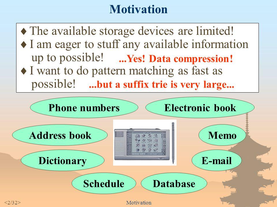 Shift-And Approach to Pattern Matching in LZW Compressed Text Takuya KIDA Department of Informatics Kyushu University, Japan Masayuki TAKEDA Ayumi SHINOHARA Setsuo ARIKAWA