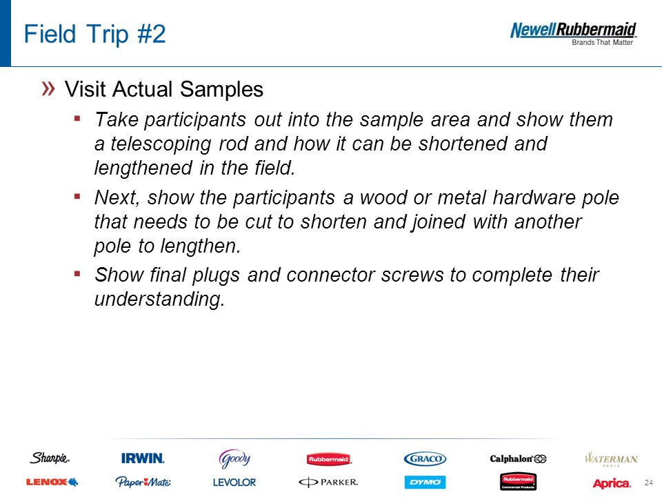 Field Trip #2 » Visit Actual Samples ▪ Take participants out into the sample area and show them a telescoping rod and how it can be shortened and lengthened in the field.