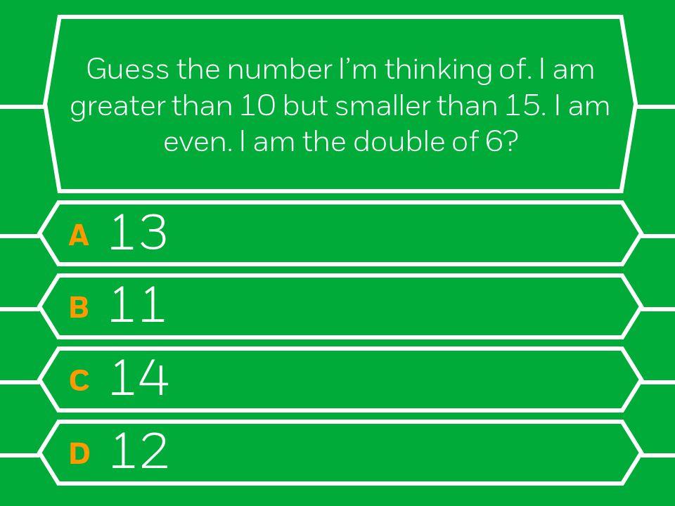 Final Question! Question 12