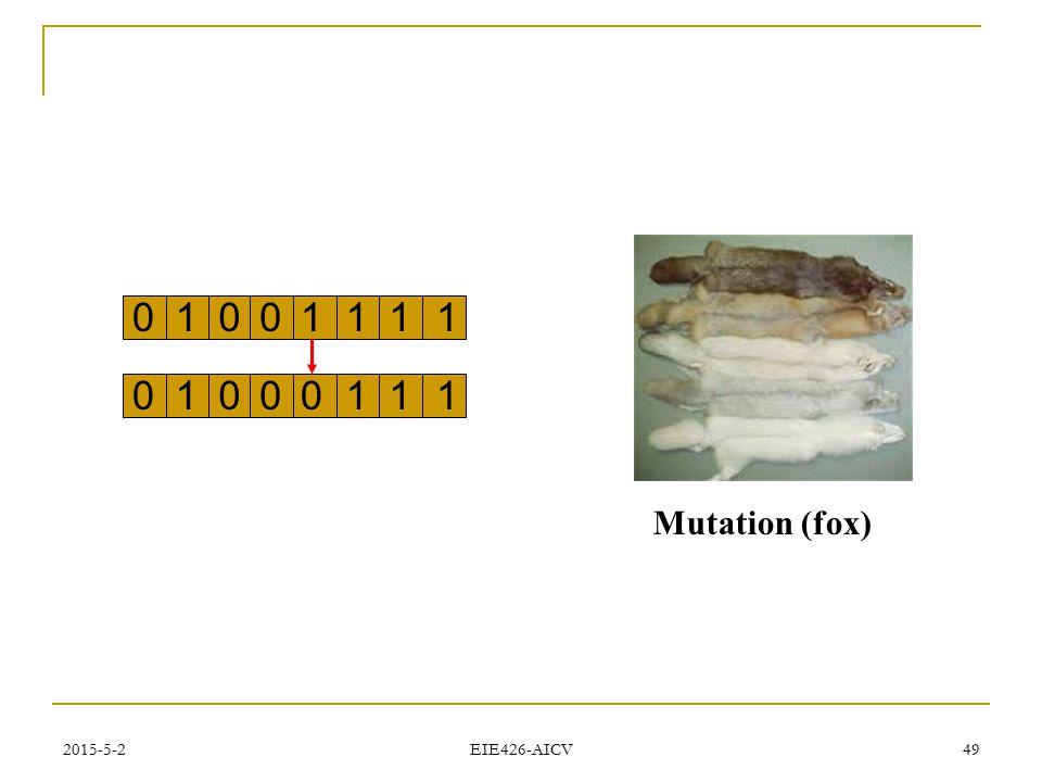 2015-5-2 EIE426-AICV 49 Mutation (fox) 01010111 01000111