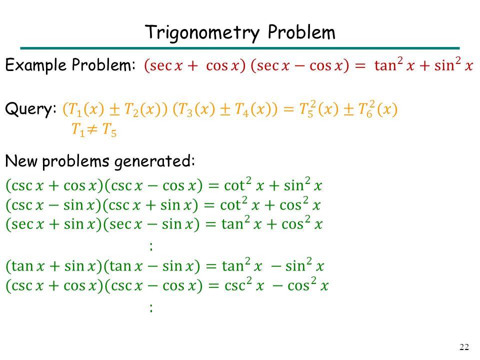 22 Trigonometry Problem