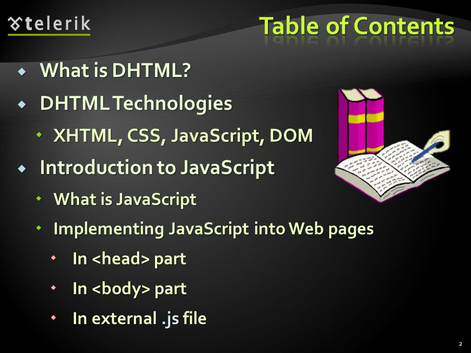  What is DHTML.