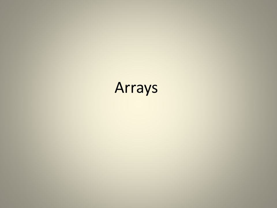 What is an array An array is used to store a collection of data It is a collection of variables of the same type