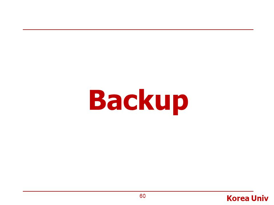 Korea Univ Backup 60