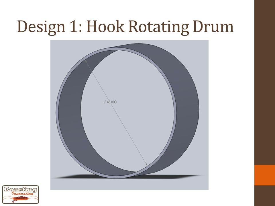 Design 1: Hook Rotating Drum