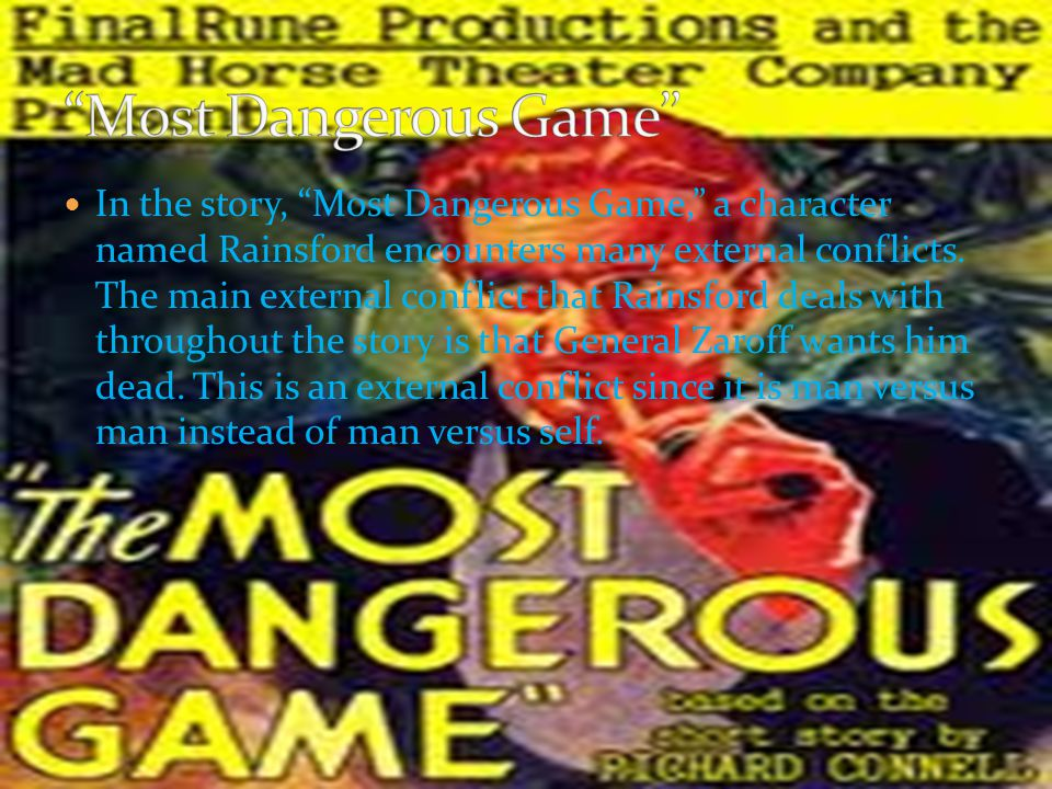 """Suspense- Suspense is shown in """"The Most Dangerous Game"""" throughout the first couple paragraphs, when Ship- Trap Island is established as a mysterious"""