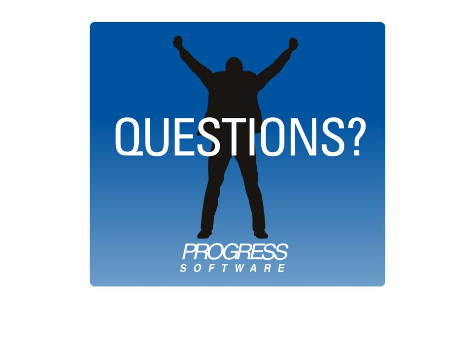 © 2010 Progress Software Corporation. All rights reserved. 114