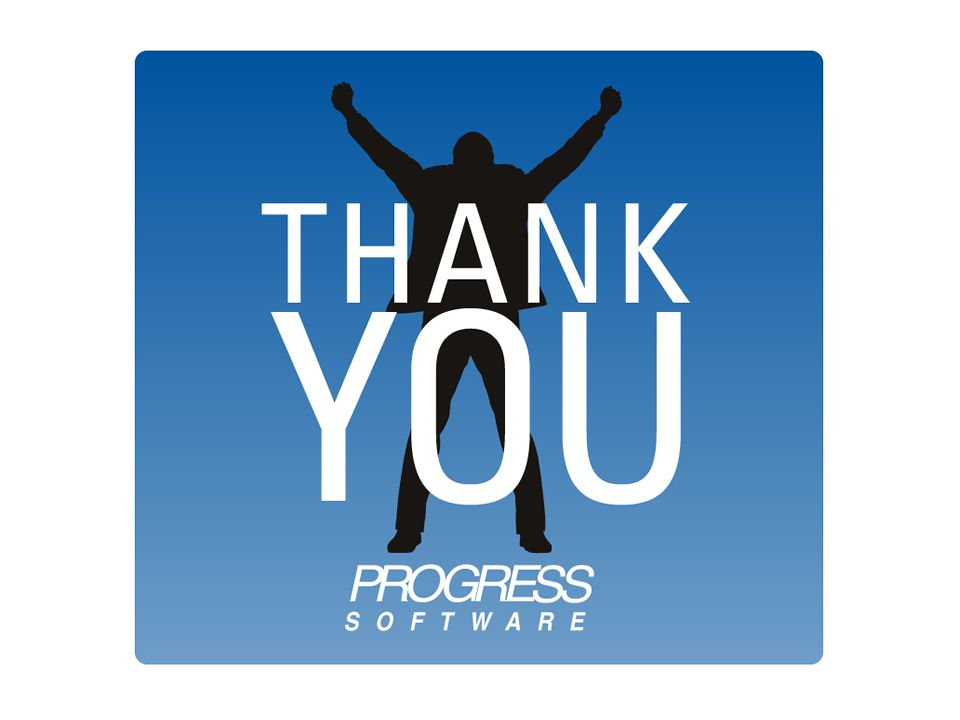 © 2010 Progress Software Corporation. All rights reserved. 116