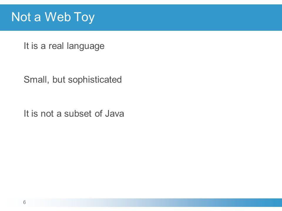 Try Statement The JavaScript implementation can produce these exception names: Error EvalError RangeError SyntaxError TypeError URIError 47