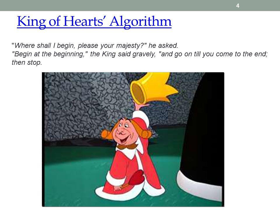 King of Hearts' Algorithm 4