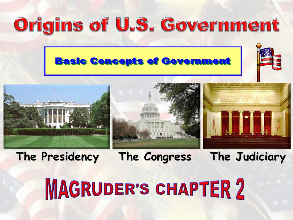 The Presidency The Congress The Judiciary