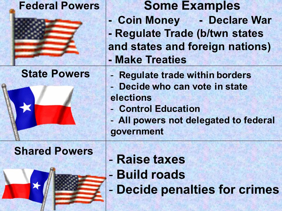 The Federal System gives Americans the ability to vote for both State and national officials. The federal government acts for the nation as a whole. T