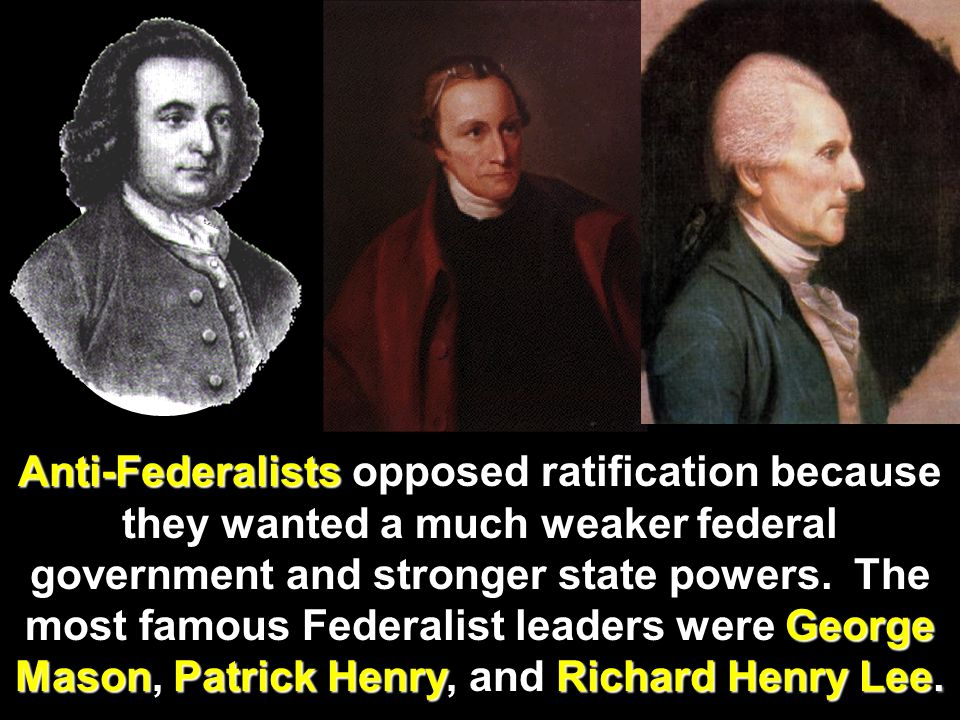 The Federalist Papers In support of their beliefs, Federalists wrote a series of essays called The Federalist Papers to try to convince the people of
