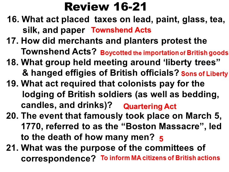 inform citizens in Massachusetts about the actions of the To inform citizens in Massachusetts about the actions of the Britishcommittees of correspond