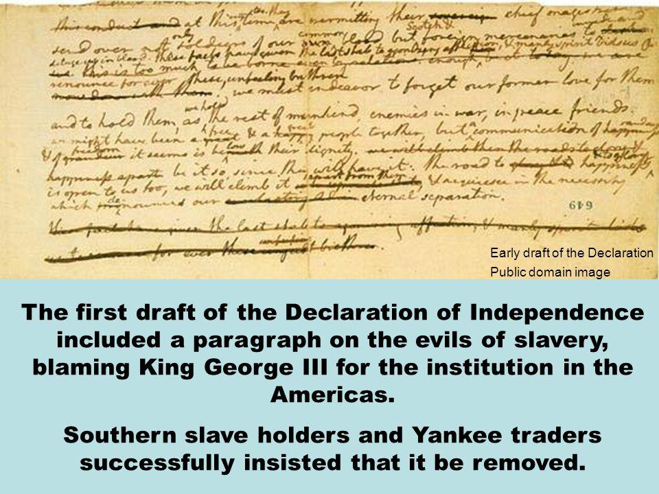 Thomas Jefferson chosen to actually write the Declaration of Independence Thomas Jefferson was chosen to actually write the Declaration of Independenc