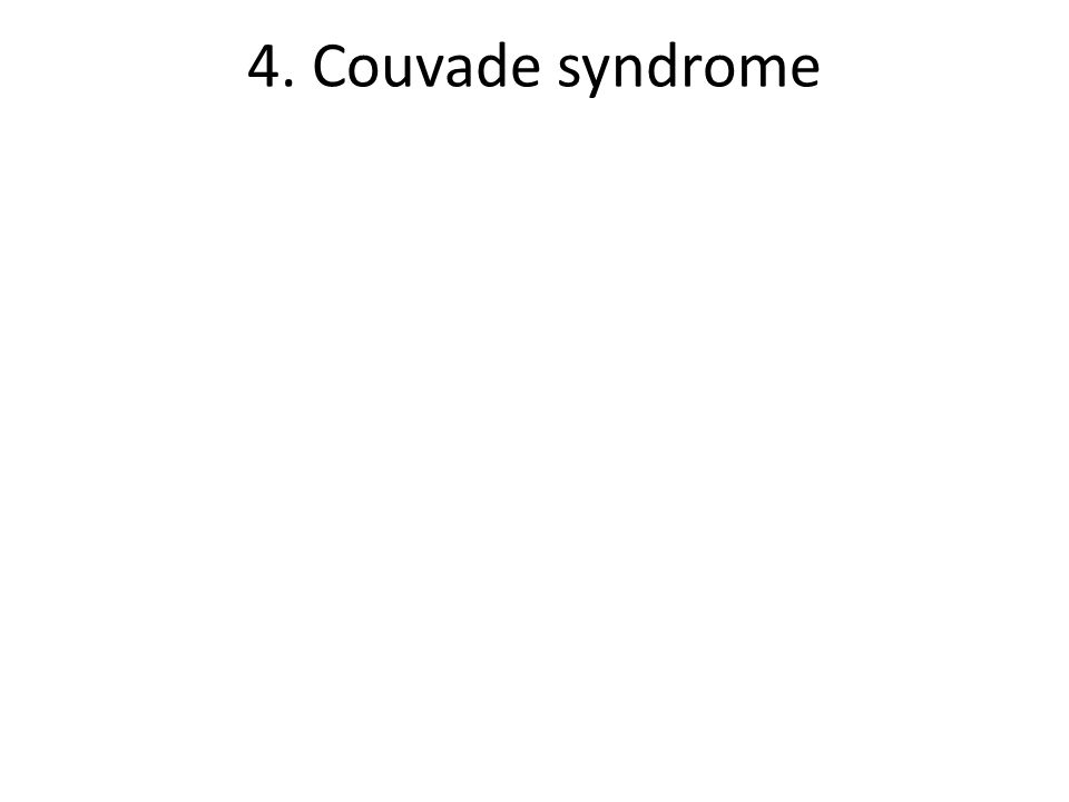4. Couvade syndrome